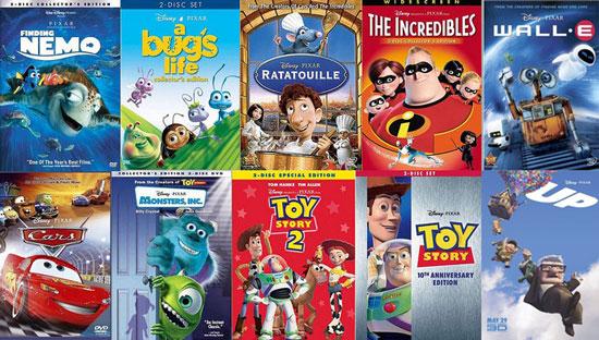 pixar. Pixar – The First 10
