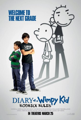 Diary of A Wimpy Kid, Roderick Rules and Dog Days (2/3)