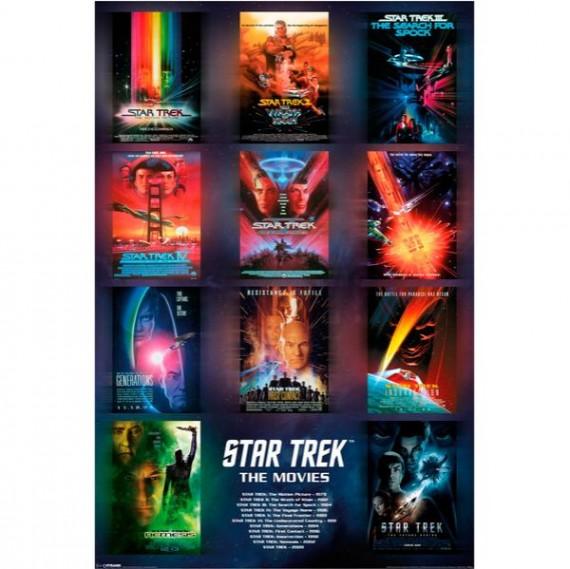 Movie Posters Star Trek Star-trek-the-movies-poster