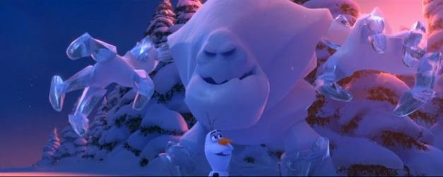 Olaf is what we all wish we could always be.