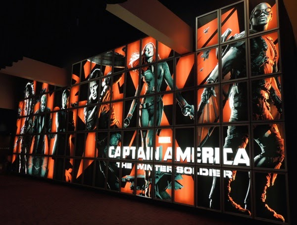 captain america winter soldier poster wall