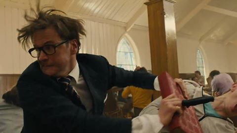 I never knew Firth's hair could move this way.