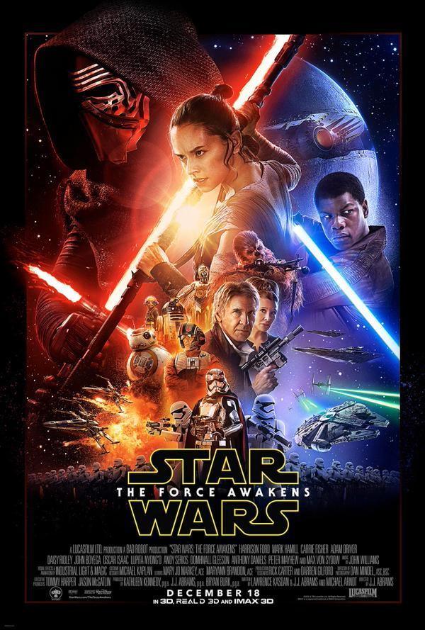 Star Wars: The Force Awakens (***1/2) There's always another weapon