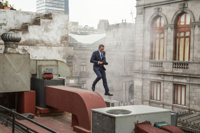 Spectre (***1/2) is unfinished business, all the time