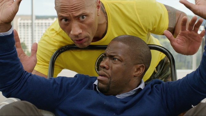 Central Intelligence (**1/2): A measure of the Rock's comedic flexing ability