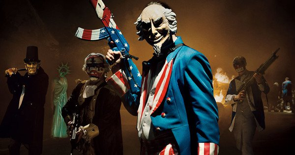 The Purge Election Year (**) Trying to wedge social commentary into a horror film