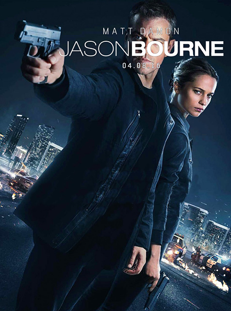 Jason Bourne (**1/2): It all ends tonight…until the next movie