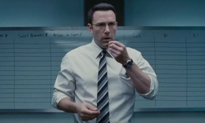 The Accountant (****) is compelling though predictable