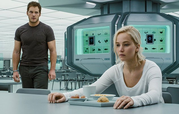 Passengers (***) starts off as a nice trip