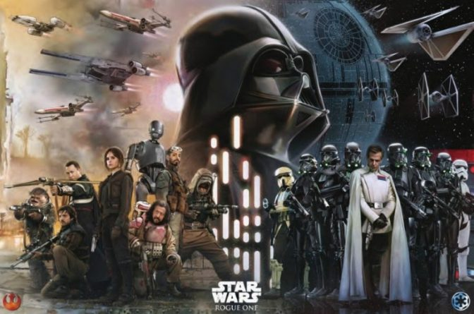 Rogue One: A Star Wars Story (****1/2): There is hope. Lot's of it.