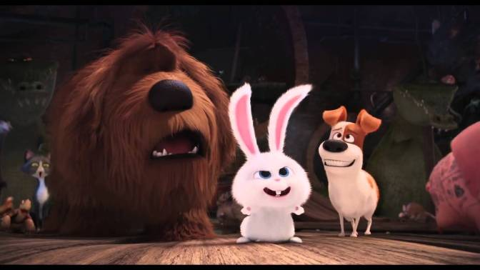 The Secret Life of Pets (***1/2) and Sing (*1/2) shows Illumination is just pumping them out there regardless of quality