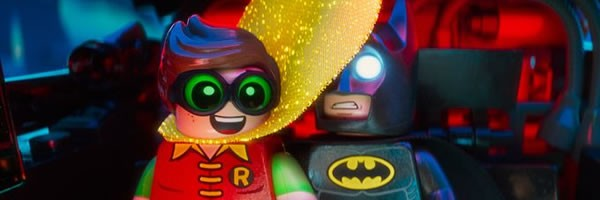 The Lego Batman Movie (***1/2) is rife with life, the universe, everything